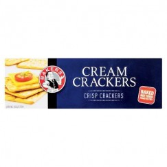 CRACKERS CREAM 200G BAKERS