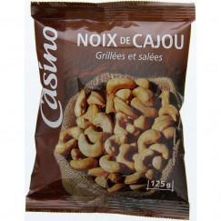 NOIX DE CAJOU CASINO SAC.125G