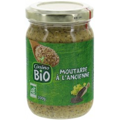 MOUTARDE ANCIENNE 200G CO BIO