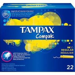TAMPON COMPAK REG.TAMPAX X22