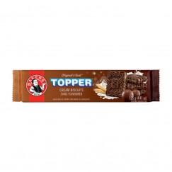BISC TOPPER CHOCO 125G