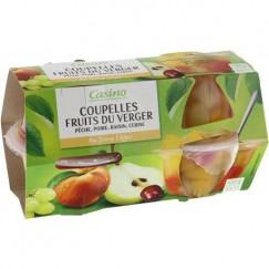 COUPELLE FRUITS VERGER 4X113G
